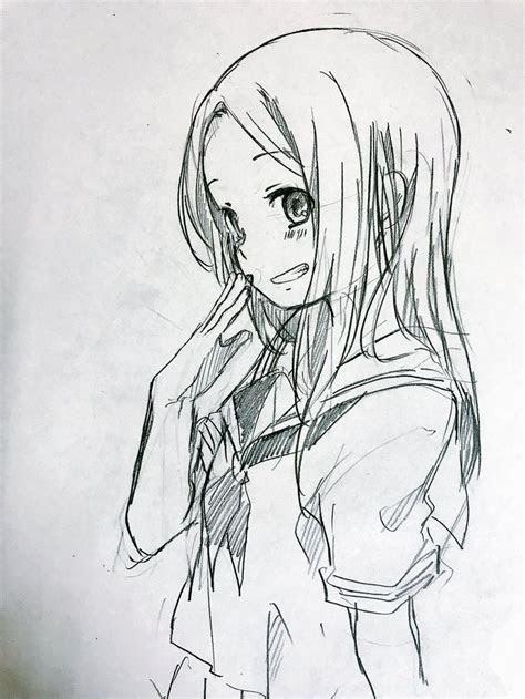takagi san karakai jouzu  takagi san anime art