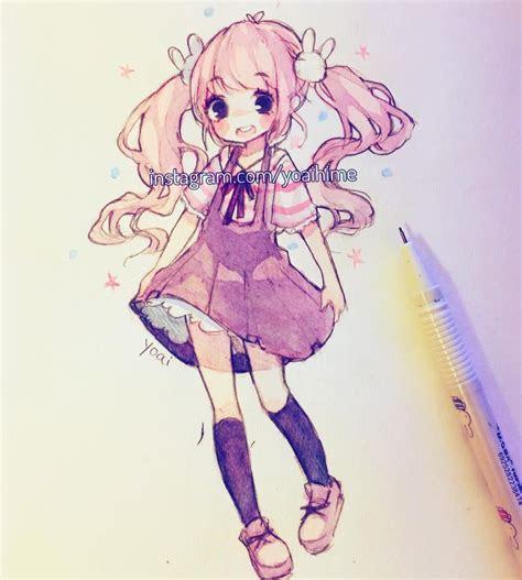 pin  curlyq  cute stuffs pastels anime art kawaii