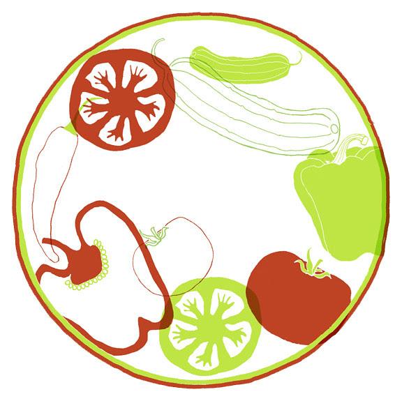 Martha Stewart pickle label