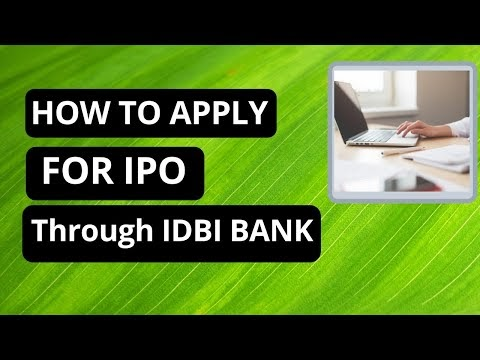 How to apply for IPO using IDBI Bank ASBA Net banking