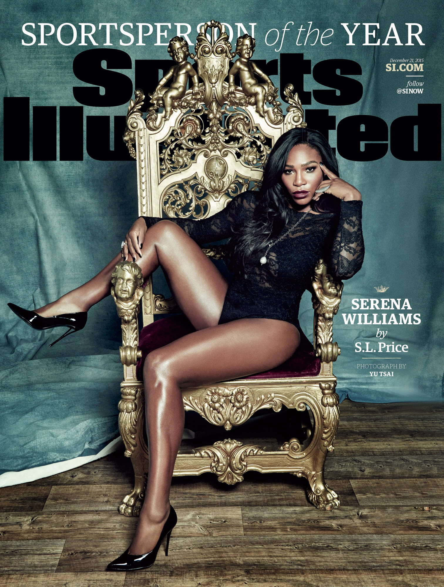 Serena Williams Named <em>Sports Illustrated</em>'s 2015 Sportsperson of the Year