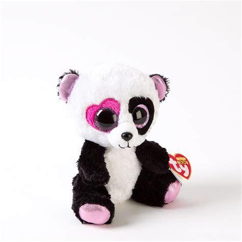 "6"" Mandy Panda Ty Beanie Baby   Valentine's Day Gifts"