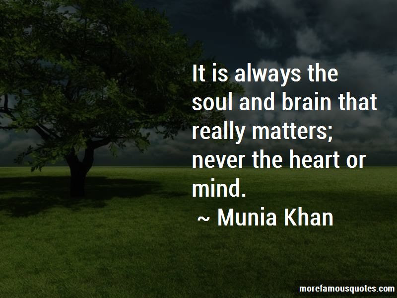 Matters Of The Heart And Mind Quotes Top 22 Quotes About Matters Of