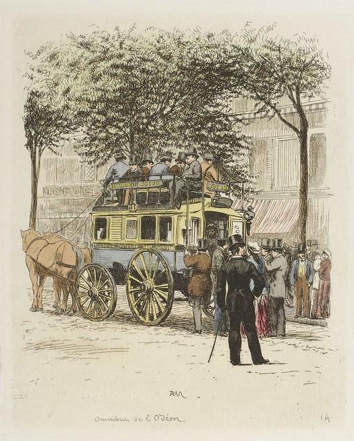 Omnibus de l'Odéon 1877