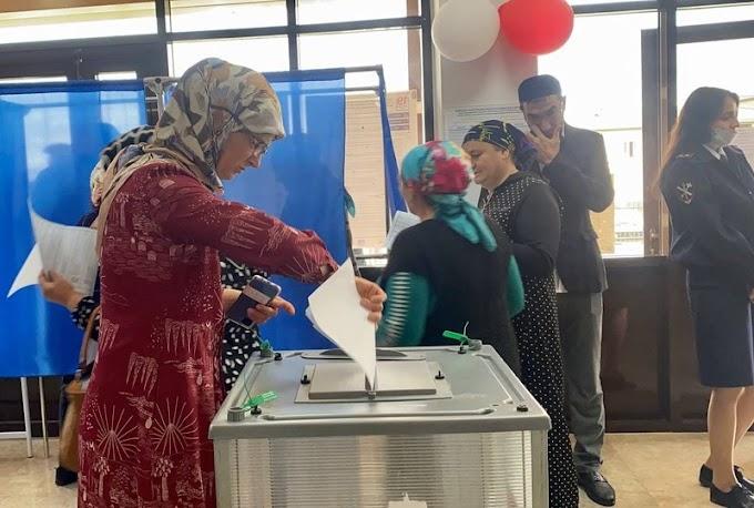 ВИнгушетии напарламентских выборах 19сентября на10часов проголосовало почти 133тыс. избирателей