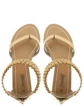 Image 3 ofTimeless Bead Cuff Flat Sandal