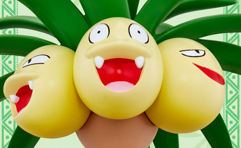 Relax together with 109-centimeter Exeggutor statue for $300 screenshot