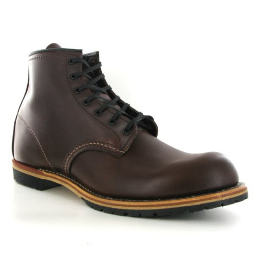 Red Wing Beckman 09016 Cigar Leather Men Boots Size 9 UK