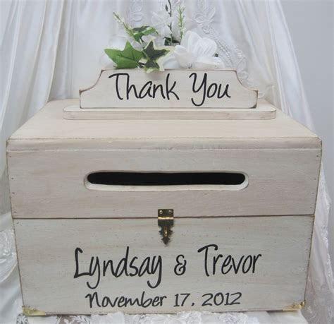 Large Rustic Wedding Card Box Keepsake wooden Chest