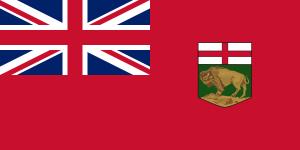 English: Flag of Manitoba Français : Drapeau d...