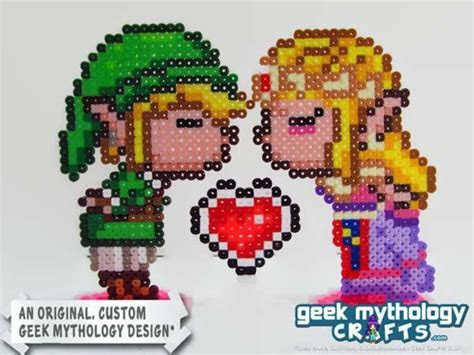 The 8 Bit Retro Game Inspired Wedding Cake Toppers   Gadgetsin