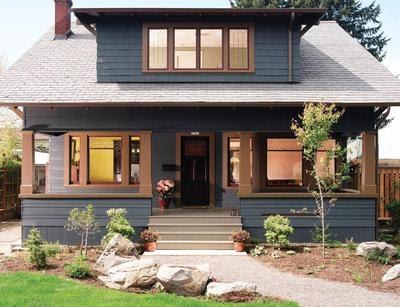 warna cat rumah kayu bagian luar yang bagus - bagikan contoh