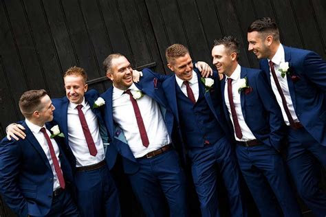 Weddings: Groom and best men   Oxfordshire Wedding