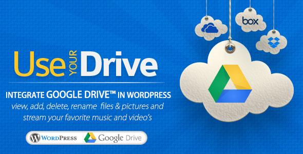 Use-your-Drive - Google Drive plugin for WordPress v1.5.4