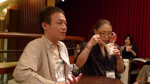 Kawahara and Kobayashi-sensei