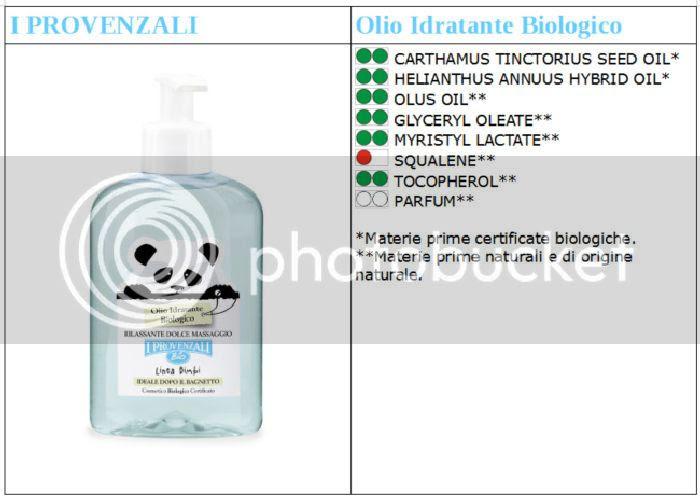 olio idratante