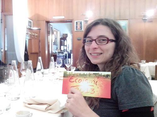 Chiara Scaramella, arriva ad'Ecoismi 2013! by Ylbert Durishti