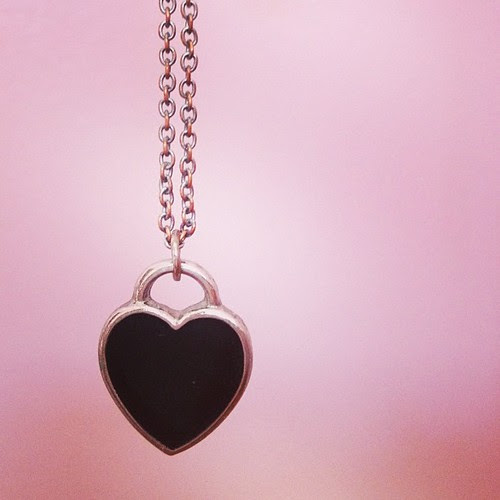 Day101 My Heart Necklace 4.11.13 #jessie365