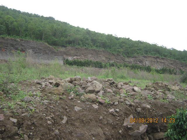Cut, Demolished & Destroyed Hill of XRBIA Hinjewadi Pune - Nere Dattawadi, on Marunji Road, approx 7 kms from KPIT Cummins at Hinjewadi IT Park - 52