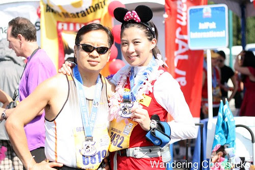 Lil' Sis Ran the Disneyland Half Marathon 9