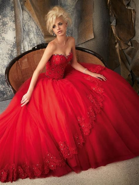 17 Best images about Red Wedding Dress on Pinterest   Red