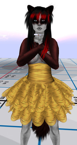 The Dressing Room AA Fashion Tal Dress Gold December 14 2010 2