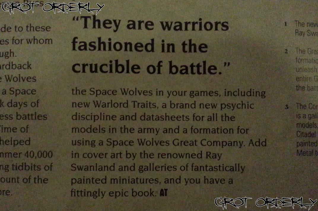 Games, Workshop, Warhammer, 40k, Grot, Orderly, Space, Wolves, Marines