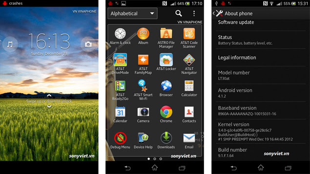 Sony Xperia T users rejoice update for Android is now available
