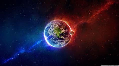 battle earth earth space planets hd desktop wallpaper