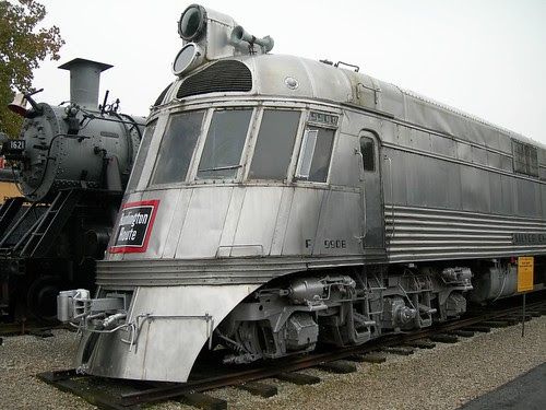 Zephyr Train looks like a large Cylon from Battlestar Galactica