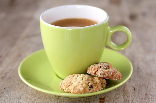 Oatmeal cookies and a nespresso