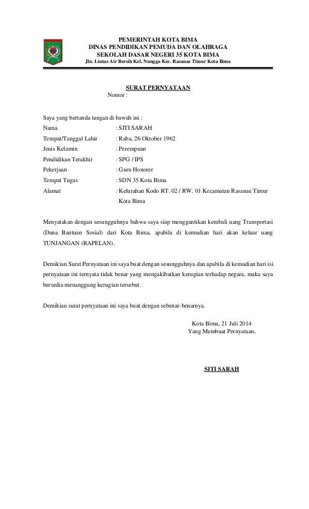 contoh surat permohonan pencairan garansi bank surat 16