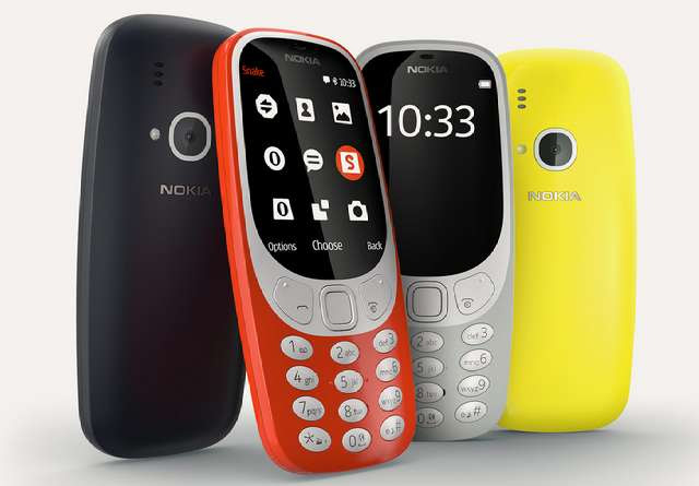 Nokia 3310 is Back!! But with a Colour Screen and a Camera