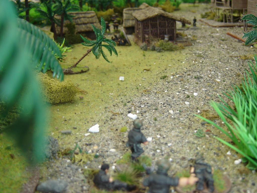 2nd Squad advance on VC Command hut