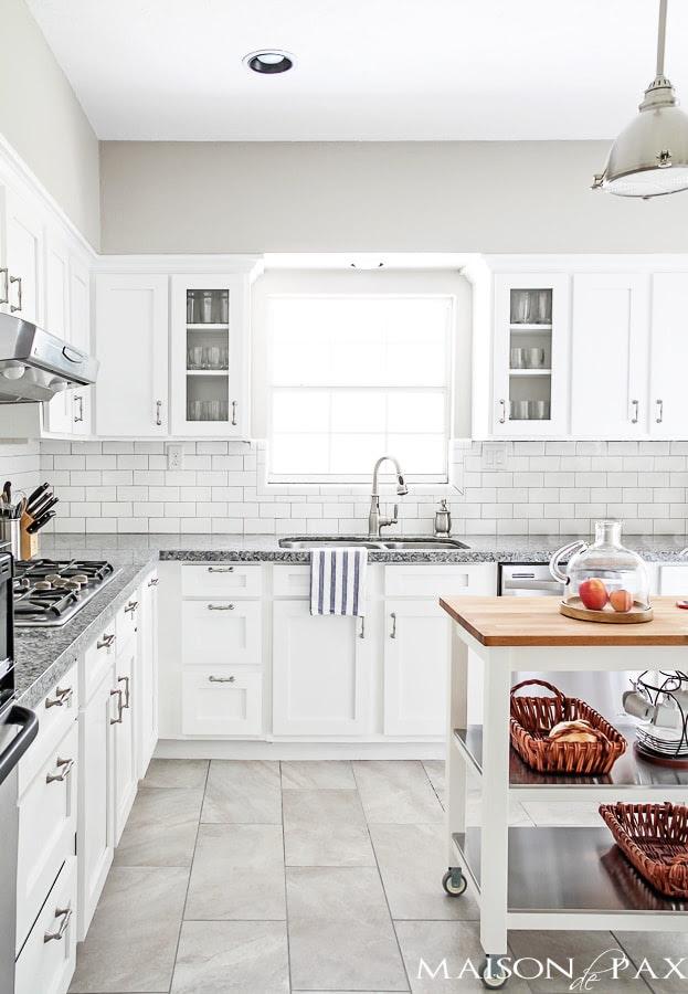 Source List for Classic White Kitchen - Maison de Pax