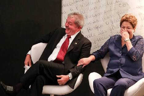 Lula e a presidente Dilma Rouseff