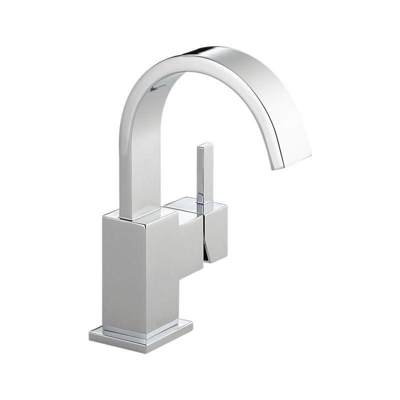 553lf Vero Single Handle Bathroom Faucet Bath Products Delta Faucet
