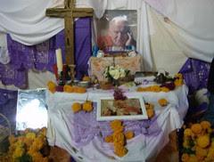 Ofrenda al Papa Juan Pablo II