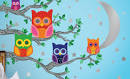 Colorful Wallpaper for Kids Room Designs from Wall Candy Arts