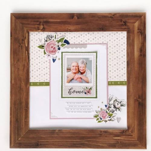Magnolia Frame Kit Inspired Paper Crafts