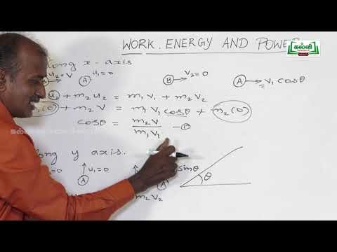 NEET JEE  Physics Gravitation Work Power And Energy Part 03 Kalvi TV