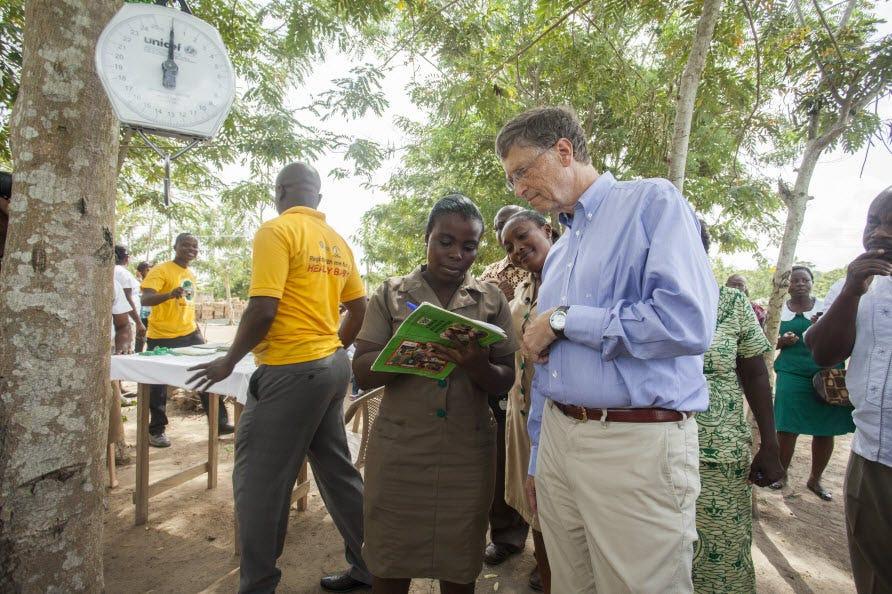 Quỹ Bill & Melinda Gates Foundation đã có bàn tay của mình trong một số dự án, từ việc xóa bệnh trong góc xa của thế giới để phát triển các nguồn phong phú hơn về thực phẩm cho những người nghèo khó.