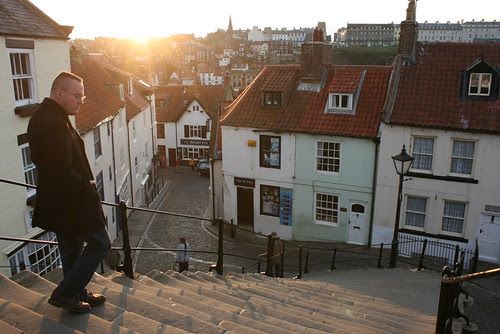 The Stairs at Whitby