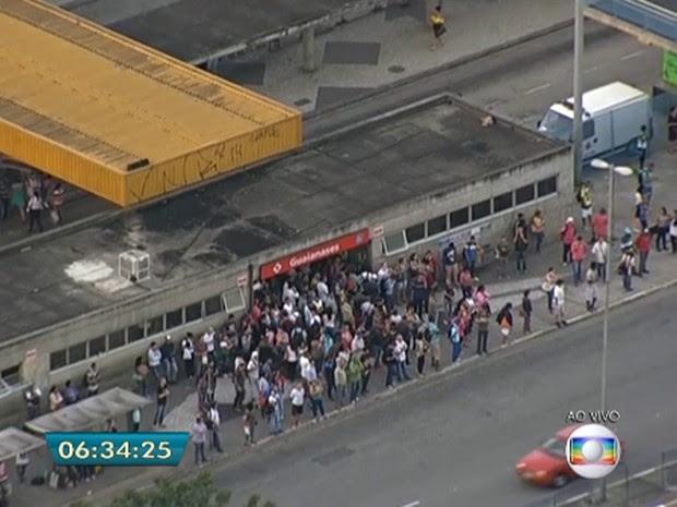 Suspeita de bomba (Foto: Reprodução/TV Globo)