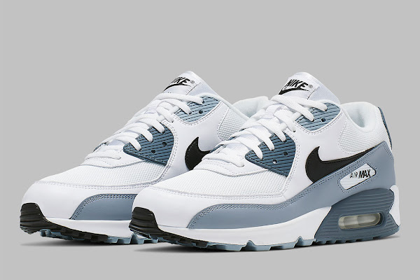 570c07bf7ac The Nike Air Max 90 Fuses Obsidian And Armory Blue