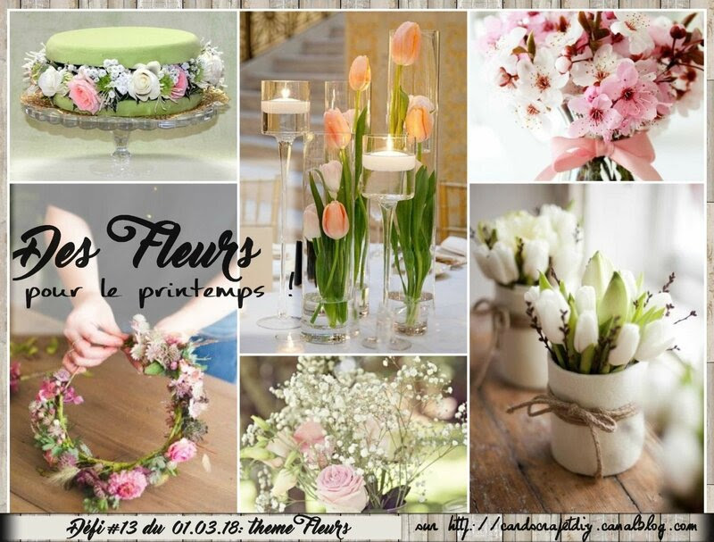 CS&DIY #13 des fleurs pour le printemps