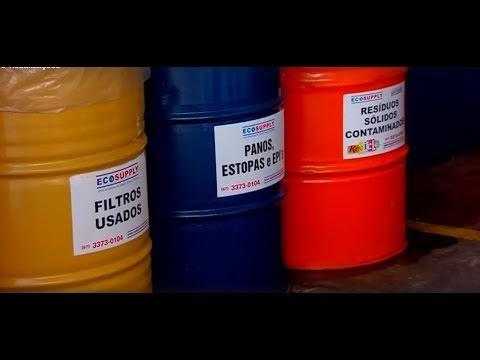 Saiba como funciona a reciclagem dos filtros de óleo consumidos em MS