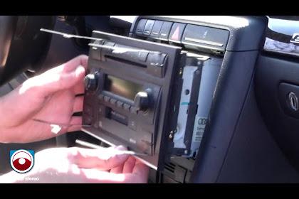 2004 Audi A4 Radio Removal
