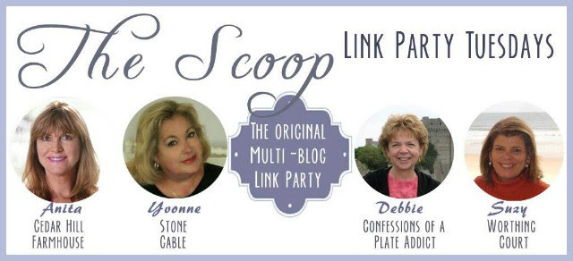 The Scoop Link Party - 200+ inspiring home decor and lifestyle ideas!