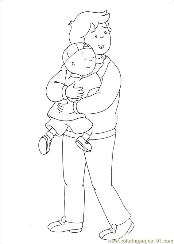 Caillou Coloring Pages 032 Coloring Page Free Caillou Coloring
